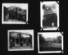 "Photo Album, p. 13, Photographs - ""The text describes the contrast between the dwellings of ""crowded rooming houses in the blighted Hasting Street district of Detroit... In contrast to these crowded breeding holds of vice and misery, is the lake shore estate of a Detroit auto magnate... Many faint wiht toil, That a few may know the cares and woes of sloth.""  --Walter and Victor Reuther"