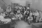 Organization meeting at Victor Reuther's home.  ca 1950