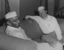 "With Nehru in his house.  Nehru said he was so happy to meet with Reuther.  Reuther responded by saying it was one of his dreams to, ""visit your great country and meet with you."""