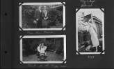 Photo Album 10-More than friencs, hanks for the buggy ride, My chief advisor-1927