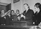 "Walter Reuther in Greece.""Spring 1953."