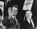 Robert Kennedy with Walter Reuther-ca. 1968