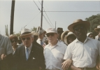 Walter Reuther & Fraser at march. -CA. 1960
