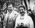 Walter Reuther, Labor Day Parade 1961.
