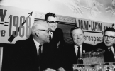 Walter Reuther at the IAM meeting in 1963.""