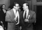 "Roy and Walter Reuther at the 14th Constitutional Convention.  Chelsea Hotel, Atlantic City, N.J.  December 1952.""December 1952-"