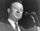 "Walter Reuther addressing the crowd at the UAW 26th Biennial Convention in Denver.""September 24, 1968"