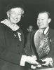 Walter Reuther with Eleanor Roosevelt.