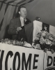 "Walter Reuther speaking at the Indiana State CIO convention.""Oct. 20-22, 1950"