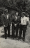 Walter Reuther in group photo from Region 8's 1965 Summer School.  UAW Region 8 Director E.T. Michaels at left.