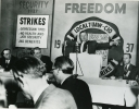 UAW Local 7 - Walter Reuther speaking at meeting commemorating the 20th anniversary of UAW Local 7 (?).