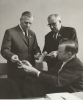 "Walter Reuther used the ICFTU-Congress sit in to publicize the solidarity  with Algeria situation.""Berlin July 13, 1962"