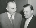 "Walter Reuther with Colbert.""May, 1957"