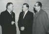 "Left to Right:""?, Walter Reuther, Emil Mazey.""Jan. 1963"""